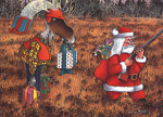 Santa Clause - Hunting