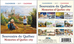 "2019 Desk Calendar ""Memories of Québec city"""